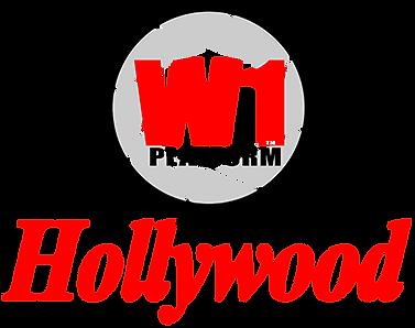 W1 Platform The Hollywood Blockchain log