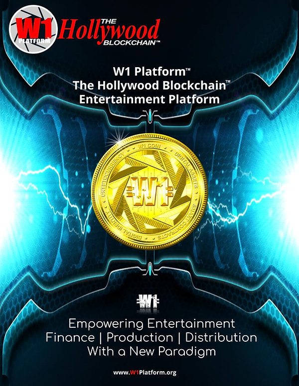 W1 Platform -The Hollywood Blockchain Wh