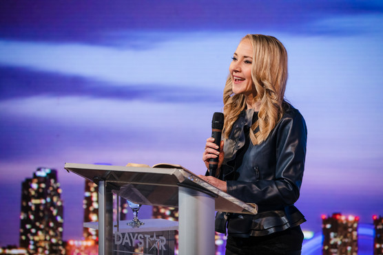 Speaking on global television, Daystar USA.