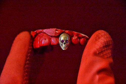 Ruby eyed skull