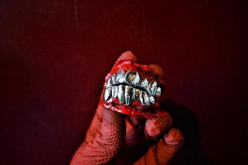 Sterling silver Teeth