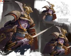 Lesson12_Samurai Girl_Arrange_small
