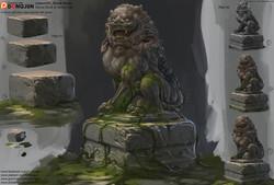 Lesson06_Stone Block & Stone Lion_arrange_small