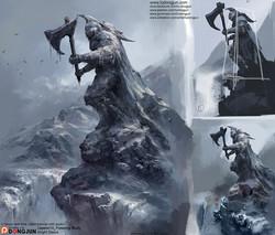 Lesson10_Knigt Statue_Arrange_small