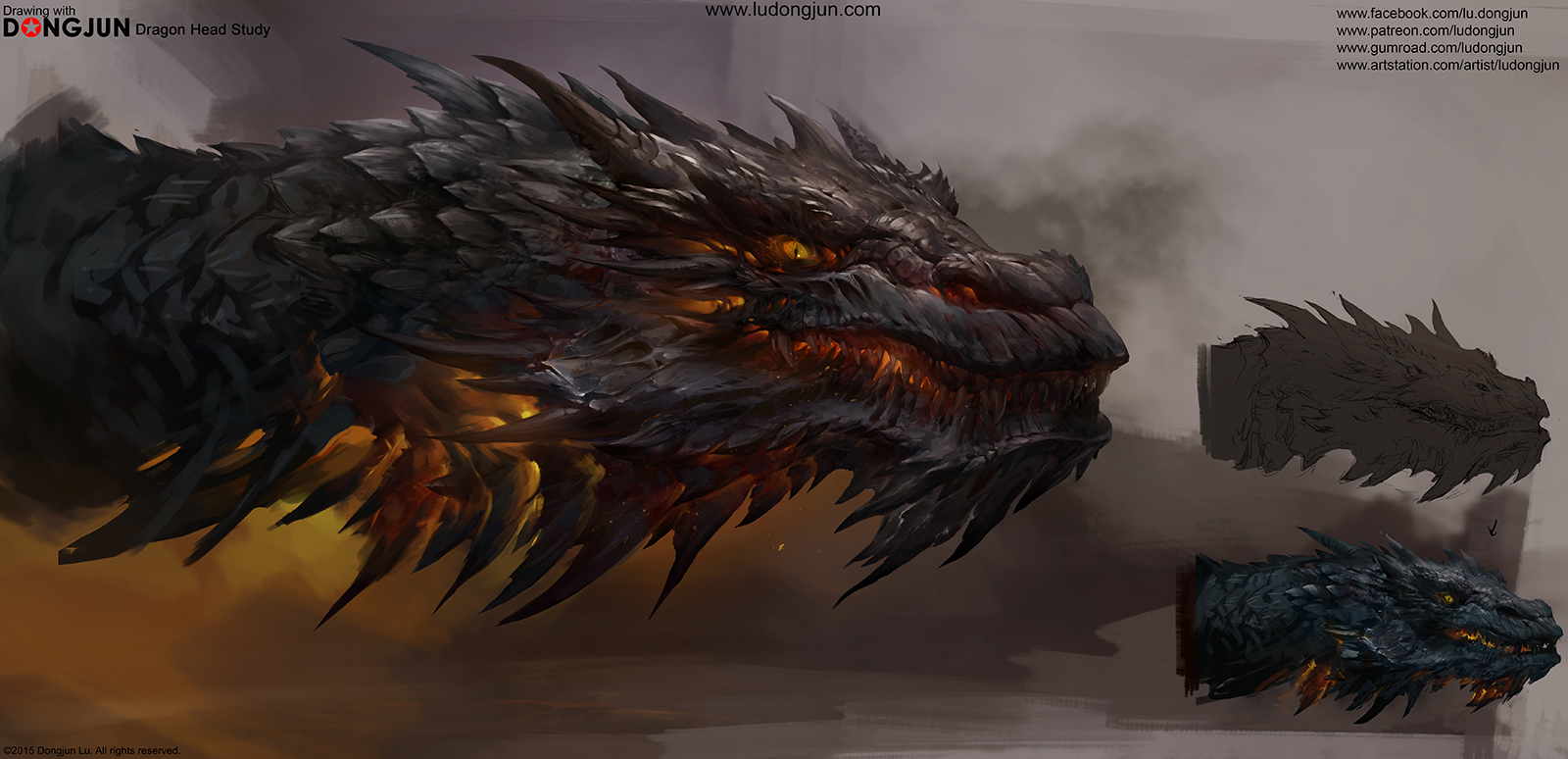 Dragon Head Study_small