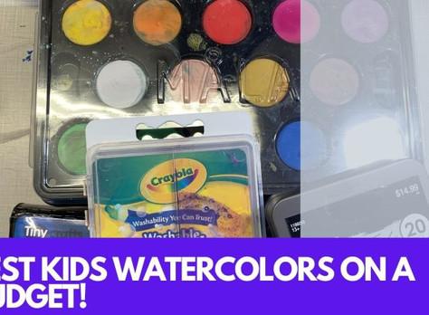 Best Kids Watercolor Paint