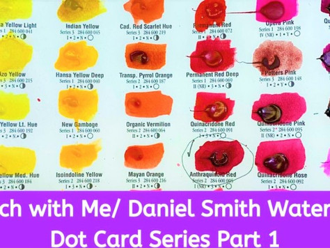 Daniel Smith Watercolors / Dot Card Series