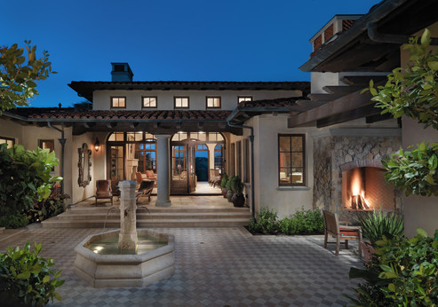 23 Saunders Residence - Courtyard Great