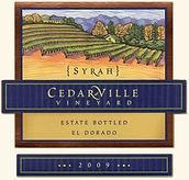 2016 Cedarville Vineyard