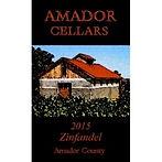 2015 Amador Cellars Zinfandel