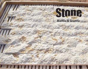 Sunny Light split face marble tiles