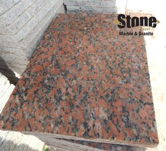 Red Aswan tiles Egyptian Granite
