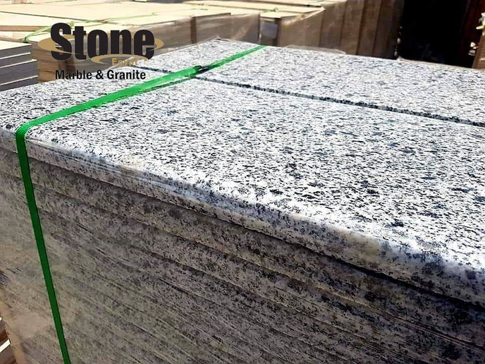 Bainco Egyptian Granite Tiles bullnose