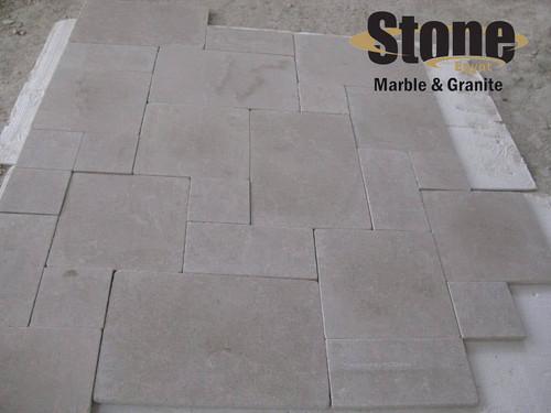 Galala Cream Tumbeled tiles