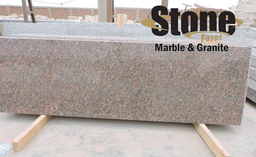 Red Aswan granite Strips / Egyptian Gran