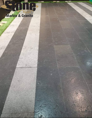 Melly Grey Dark tiles