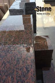 Red Aswan Egyptian Granite Tiles
