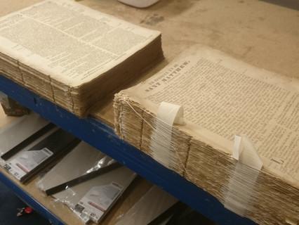 1678 bible bieng fullly reswen