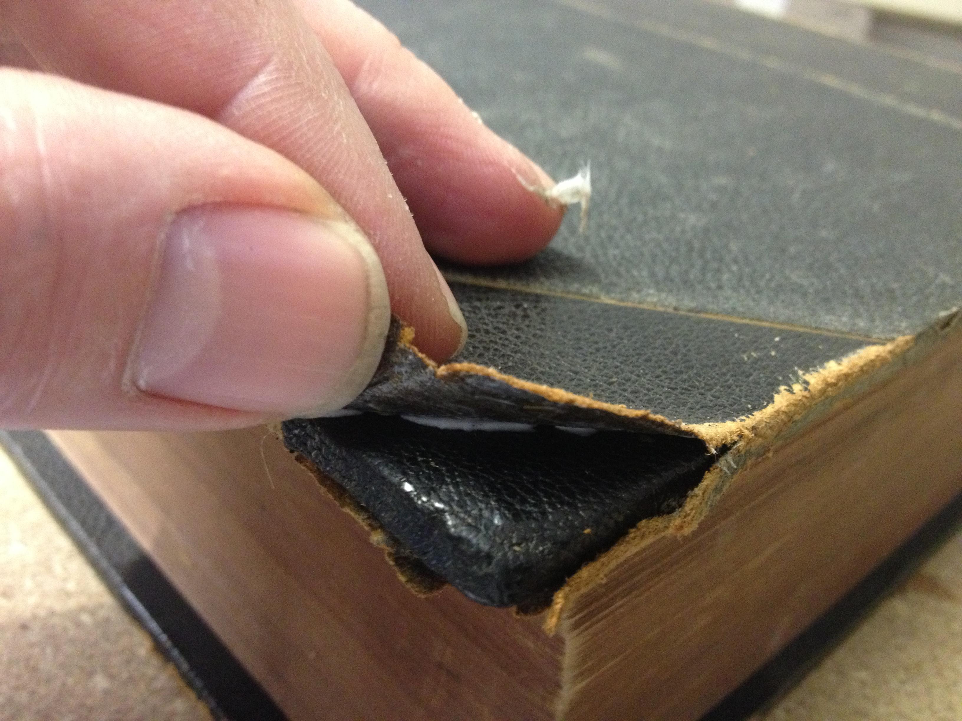 Leather Corner repair