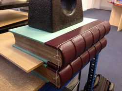 New leather spines