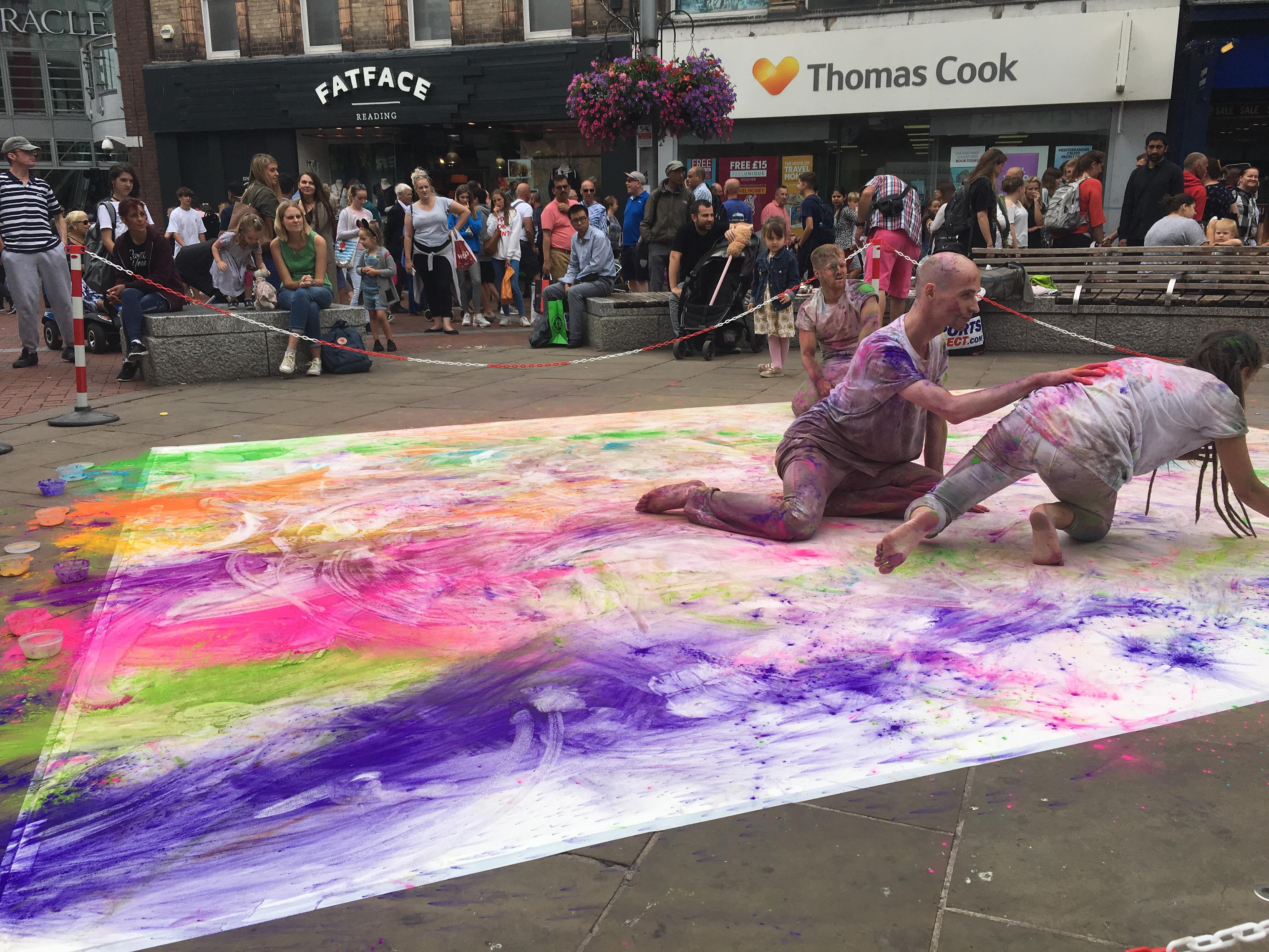 Street Dance Colour Jam