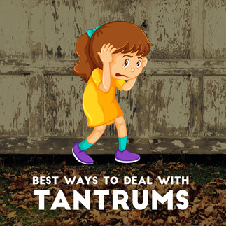 Best ways to deal with tantrums