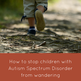 How to Stop Children with Autism Spectrum Disorder (ASD) from Wandering