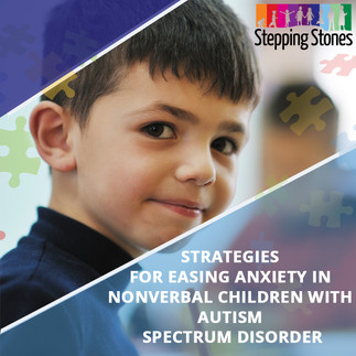 Strategies for easing Anxiety in Nonverbal Children with Autism Spectrum Disorder