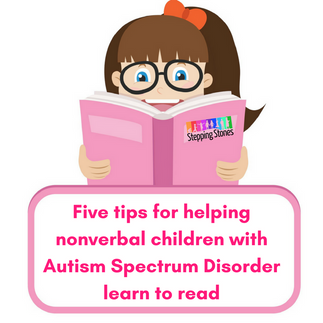 Five Tips for Helping Nonverbal Children with Autism Learn to Read