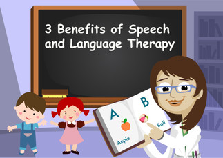 3 Benefits of Speech and Language Therapy