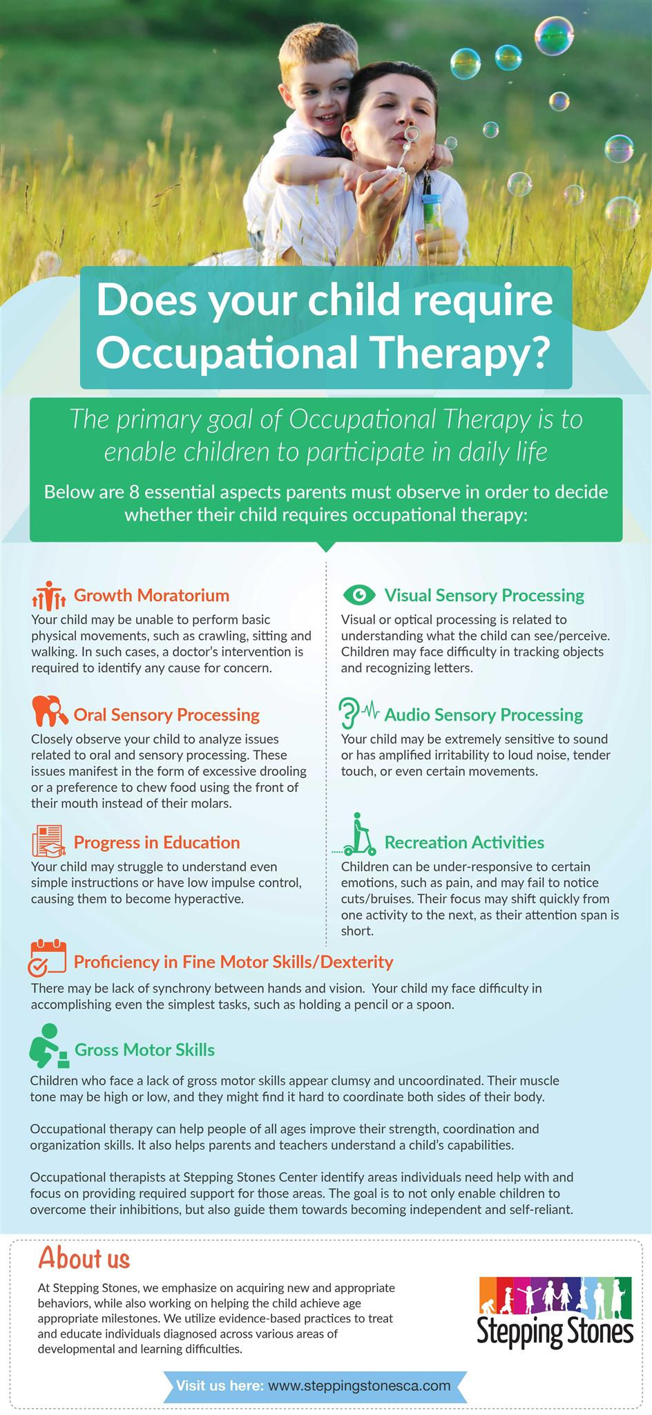 child require occupational therapy