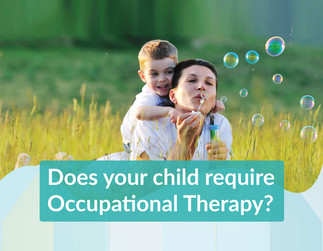 Infographic: Does Your Child require Occupational Therapy?