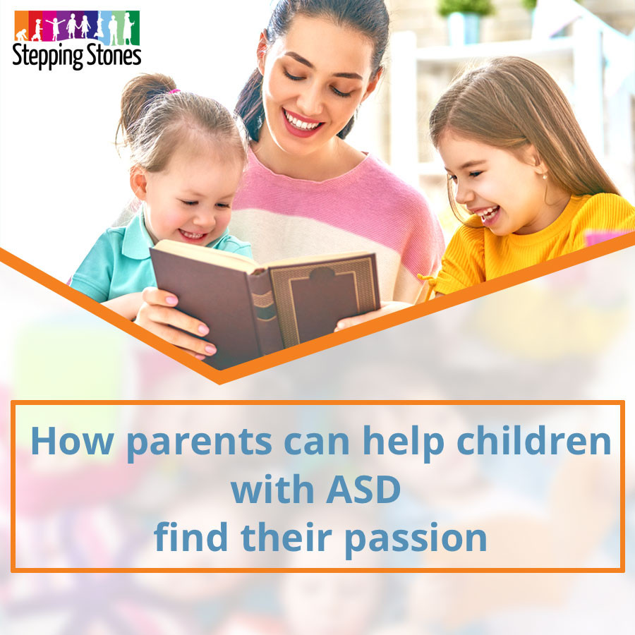 parents helping children with asd