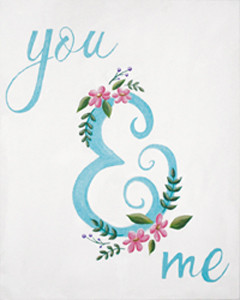 You & Me Ampersand