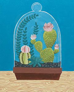 Cactus Cloche