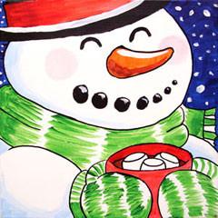 Cozy Snowman