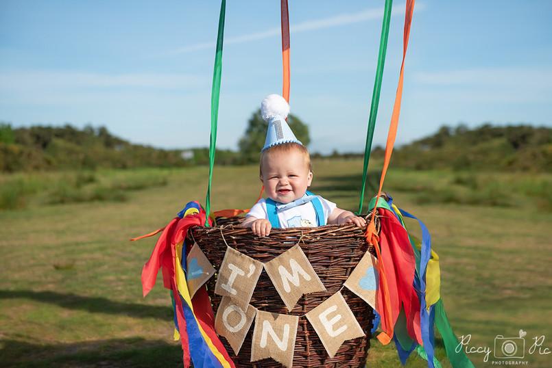 Ashdown Forest first Birthday