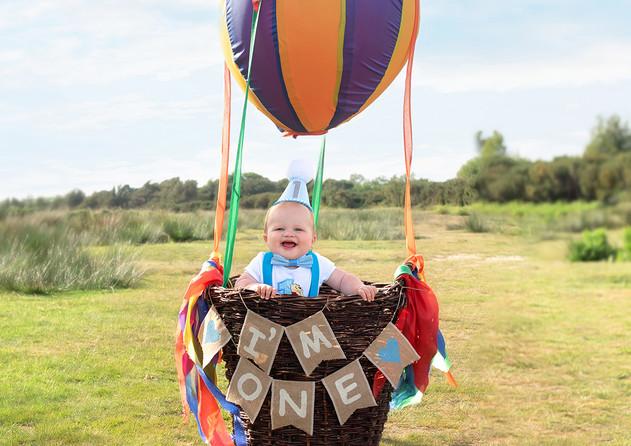 outdoor first Birthday photoshoot