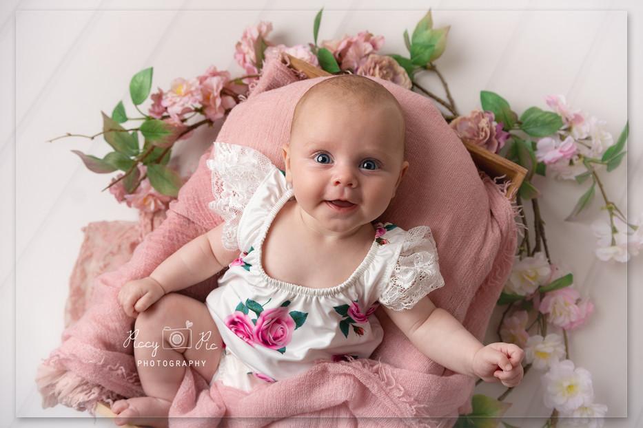 baby girl photoshoot Crowborough