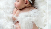The best time to come for a newborn baby session