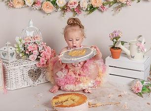 Cake Smash photoshoot Crowborough
