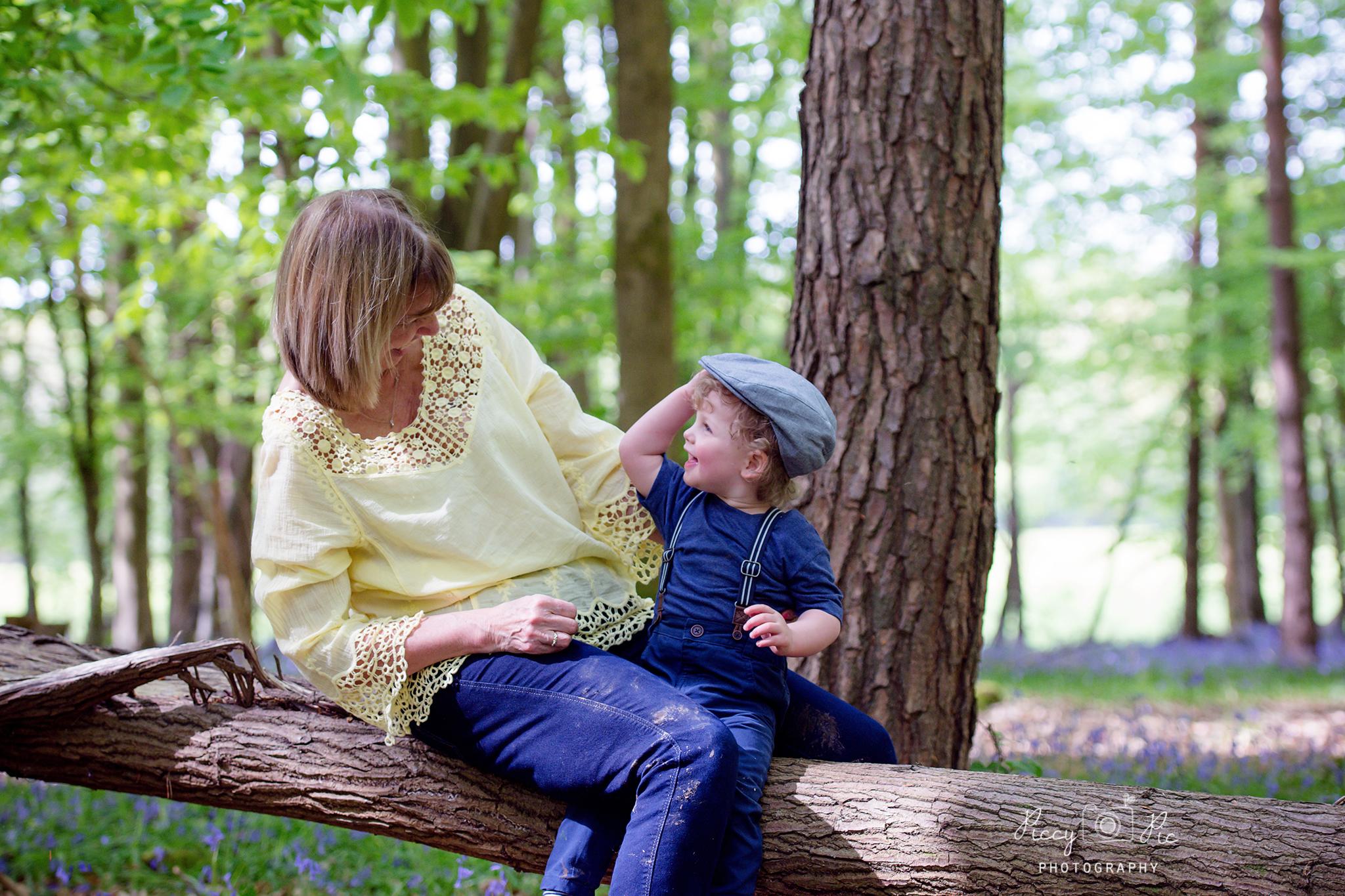 bluebell photoshoot Crowborough