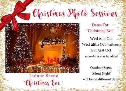 Christmas photo sessions Crowborough