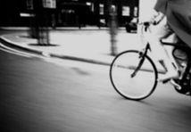 Black & White Side shot - bicycle