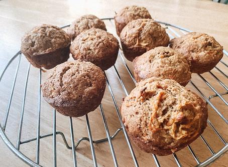 Easy Apple Carrot Muffins
