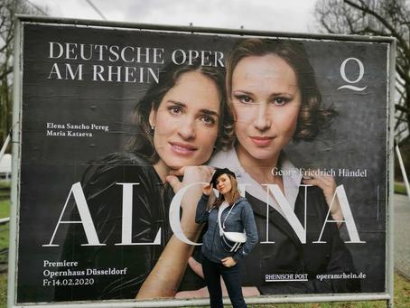 Maria Kataeva in Alcina at Deutsche Oper am Rhein