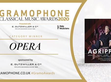 Joyce Di Donato wins Gramophone Award