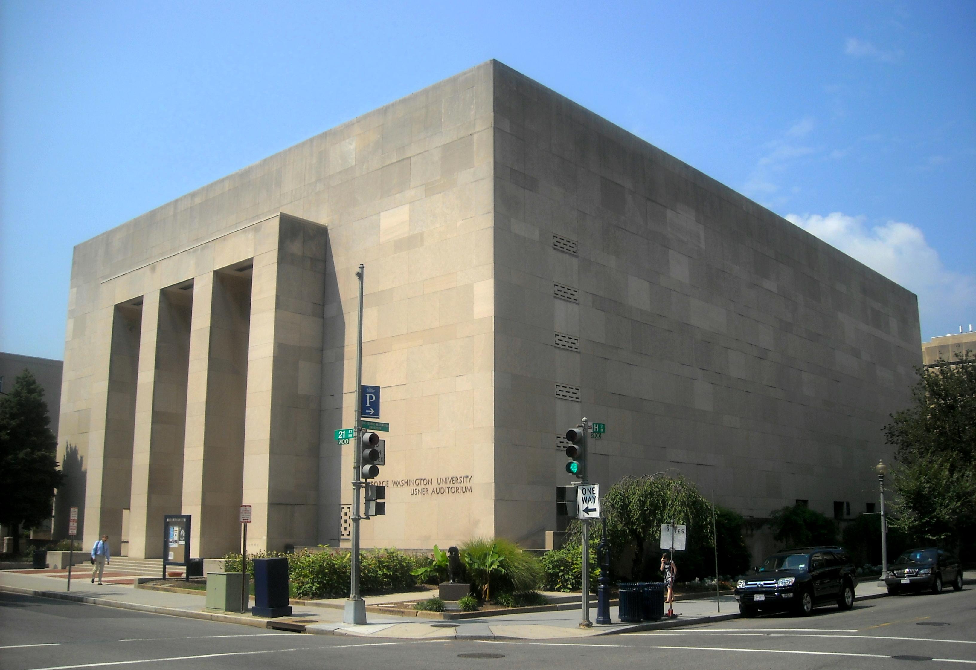 Lisner Auditorium, Washington DC