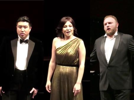 Irina Lungu, Simone Piazzola and Jongmin Park at Teatro alla Scala