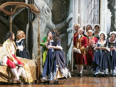 Janai Brugger & Valeriano Lanchas in Le Nozze di Figaro at Palm Beach Opera
